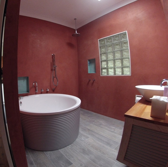 Natural render bathroom